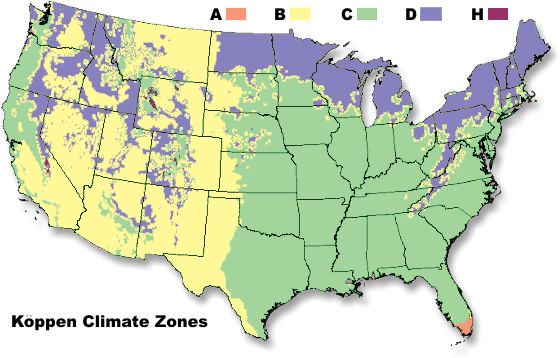 What Are the Different Climate Types? | NOAA SciJinks – All ...