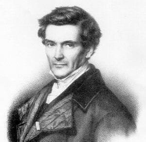 Drawing of Gustave Coriolis.