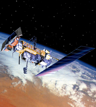 Artists rendering of a POES satellite