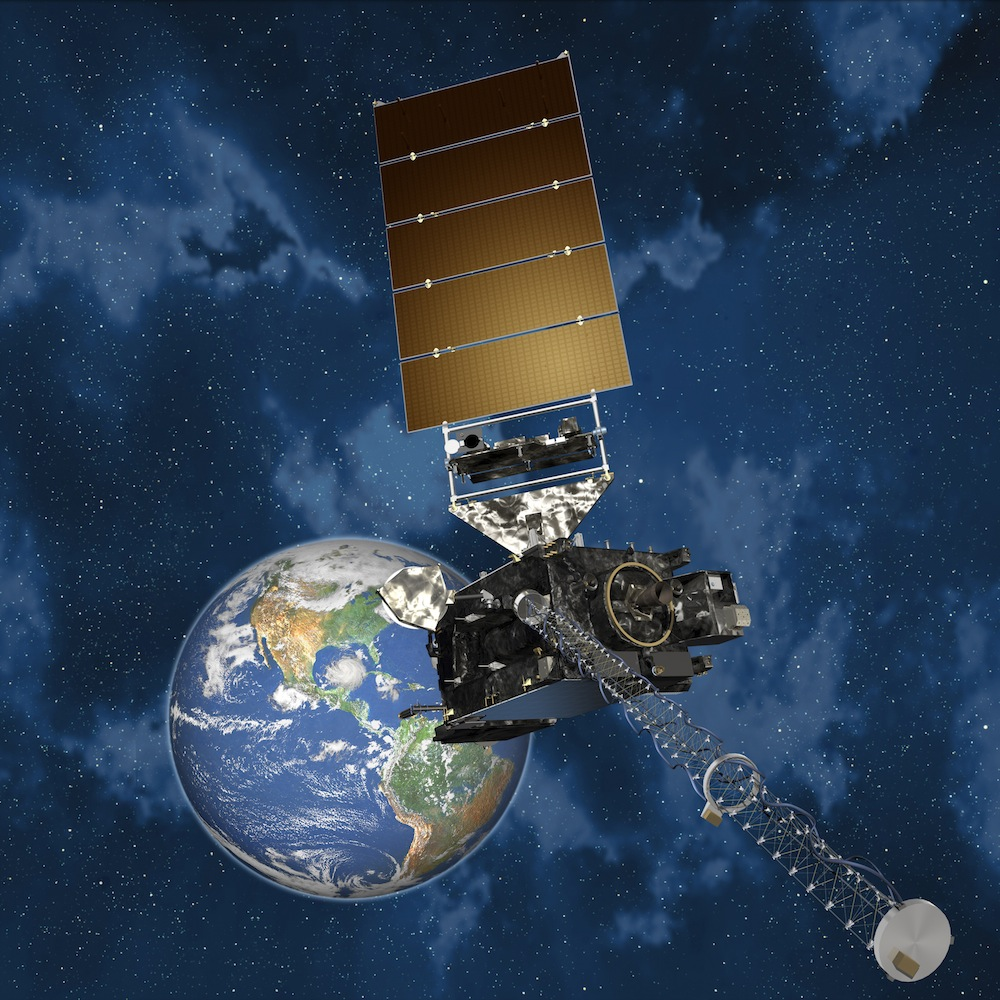 Artists conception of GOES-R.