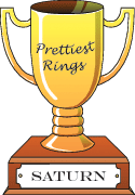 Cartoon trophy for hottest prettiest rings goes to Saturn.
