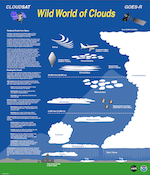 GOES/CloudSat cloud poster