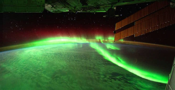 an image of an aurora